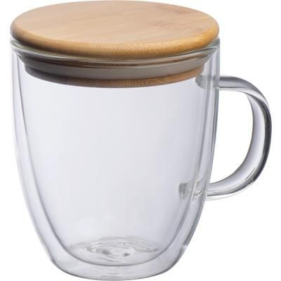 Picture of DOUBLE-WALLED GLASS CUP GERTHE
