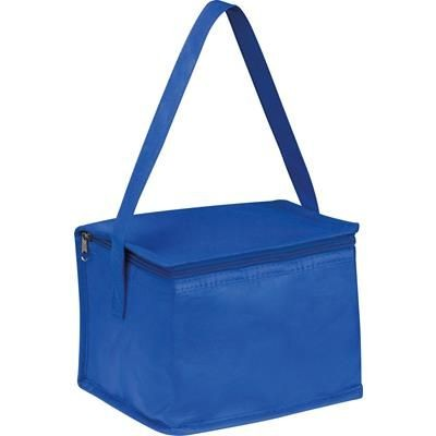 Picture of NON WOVEN COOLING BAG NIEBY in Blue