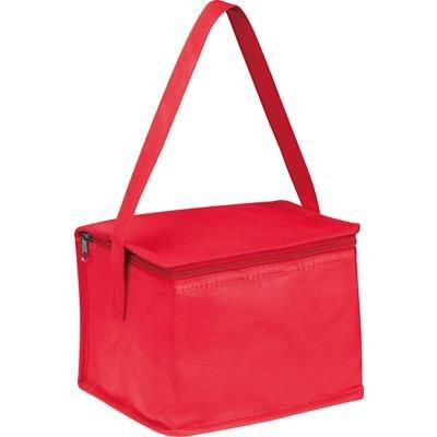 Picture of NON WOVEN COOLING BAG NIEBY in Red