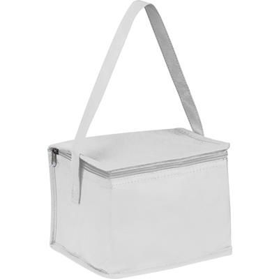 Picture of NON WOVEN COOLING BAG NIEBY in White