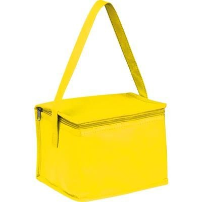 Picture of NON WOVEN COOLING BAG NIEBY in Yellow