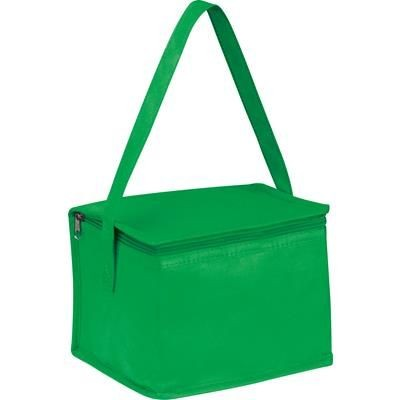 Picture of NON WOVEN COOLING BAG NIEBY in Green
