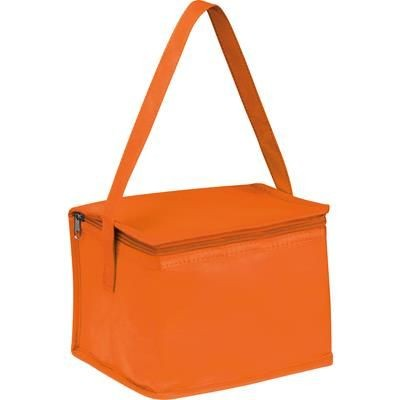 Picture of NON WOVEN COOLING BAG NIEBY in Orange