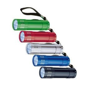 Picture of MONTARGIS 9 LED METAL TORCH