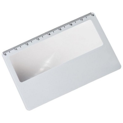 Picture of CREDIT CARD SIZED READING LENS MAGNIFER in White