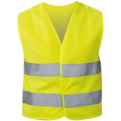Picture of ILO CHILDRENS HIGH VISIBILITY REFLECTIVE SAFETY JACKET VEST in Yellow