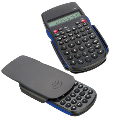 Picture of NEW HAVEN SCIENTISTS CALCULATOR in Black