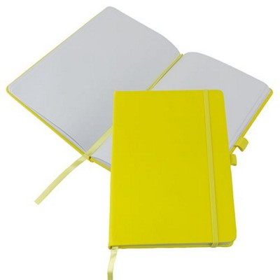 Picture of KIEL A5 PU NOTE BOOK in Yellow