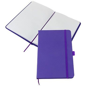 Picture of KIEL A5 PU NOTE BOOK in Purple