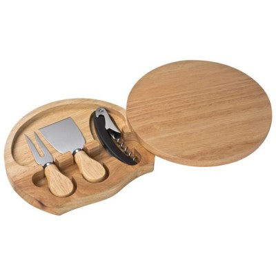 Picture of PESCIA CHEESE CHOPPING BOARD in Brown