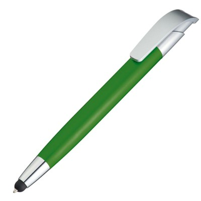 Picture of DAVOS BALL PEN & TOUCH SCREEN STYLUS in Green