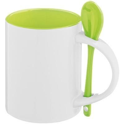 Picture of SAVANNAH CERAMIC POTTERY CUP in Lime