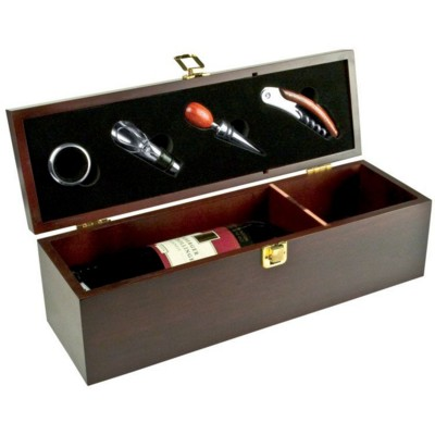 Picture of JESOLO WINE BOX in Wood