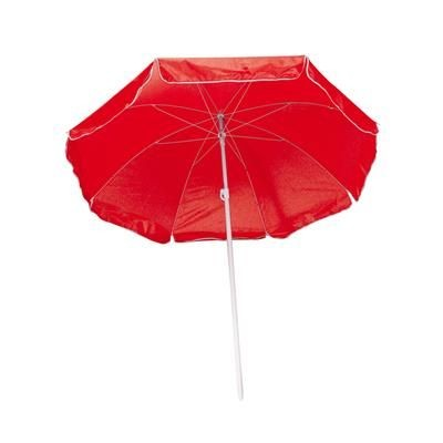 Picture of FORT LAUDERDALE BEACH UMBRELLA in Red