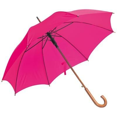 Picture of NANCY WOOD AUTOMATIC UMBRELLA in Pink