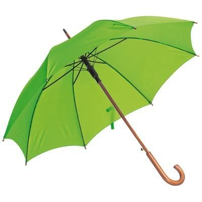 Picture of NANCY WOOD AUTOMATIC UMBRELLA in Apple Green