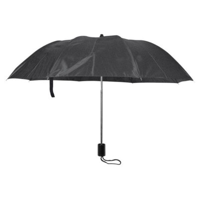 Picture of LILLE FOLDING TELESCOPIC UMBRELLA in Black