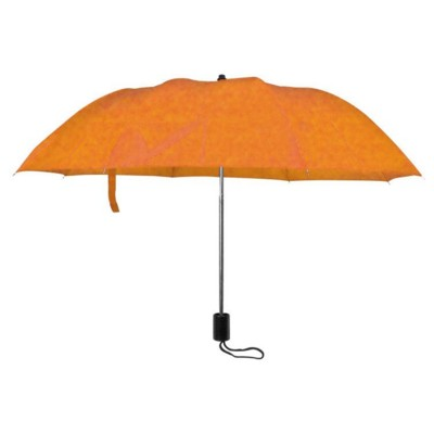 Picture of LILLE FOLDING TELESCOPIC UMBRELLA in Orange