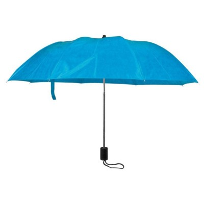 Picture of LILLE FOLDING TELESCOPIC UMBRELLA in Light Blue