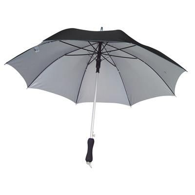 Picture of AVIGNON AUTOMATIC UMBRELLA with UV Ultra Violet Ultra Violet Protection in Black