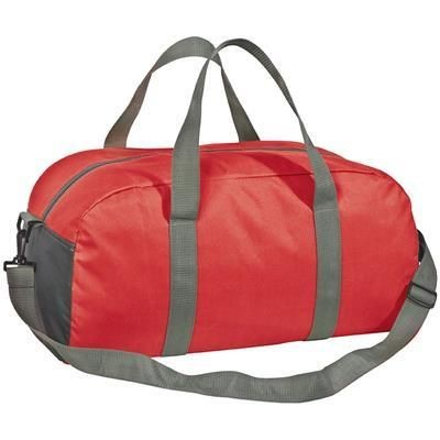 Picture of GASPAR SPORTS BAG in Red