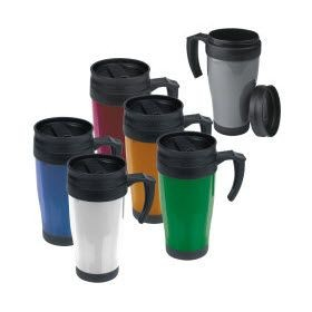 Picture of FORT WORTH PLASTIC THERMAL INSULATED THERMAL INSULATED TRAVEL MUG