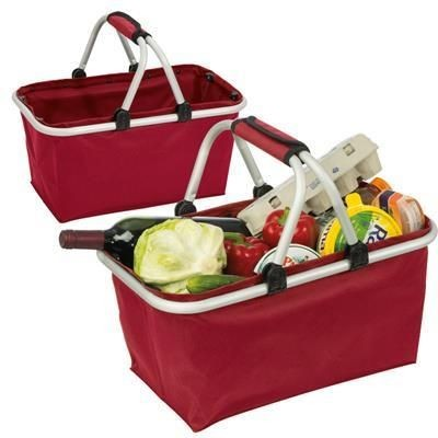 Picture of BADEN-BADEN SHOPPING BASKET in Red
