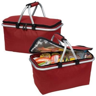Picture of LAVAL SHOPPING BASKET in Red