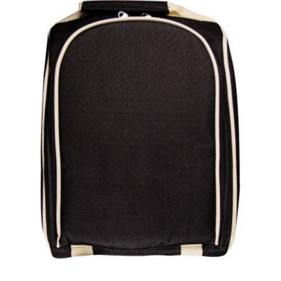 Picture of GEROGIA LUXURIOUS PICNIC BACKPACK RUCKSACK with Cool Bag in Black