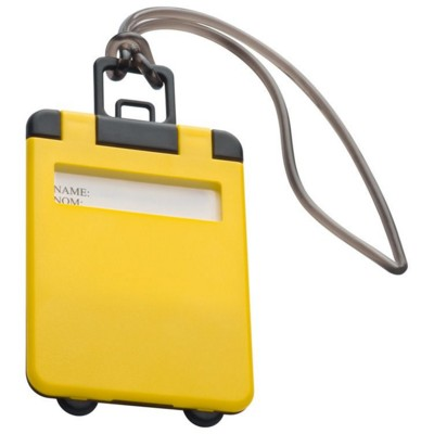 Picture of KEMER LUGGAGE TAG in Yellow