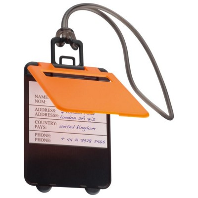 Picture of KEMER LUGGAGE TAG in Orange
