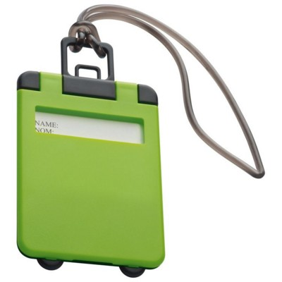 Picture of KEMER LUGGAGE TAG in Lime Green