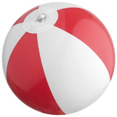 Picture of ACAPULCO MINI BEACH BALL in Red & White