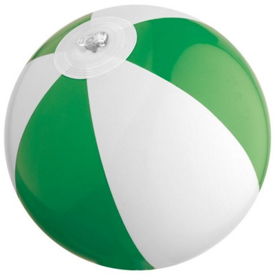 Picture of ACAPULCO MINI BEACH BALL in Green & White