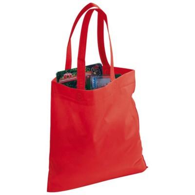 Picture of NIVALA NON WOVEN SHOPPER TOTE BAG in Red