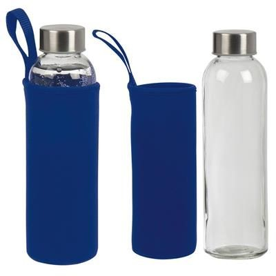 Picture of GLASS BOTTLE KLAGENFURT in Blue