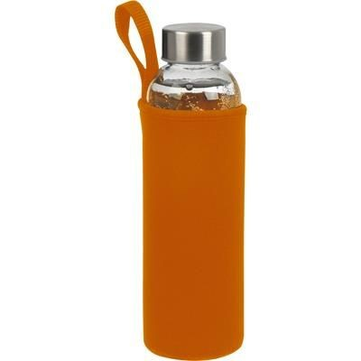 Picture of GLASS BOTTLE KLAGENFURT in Orange