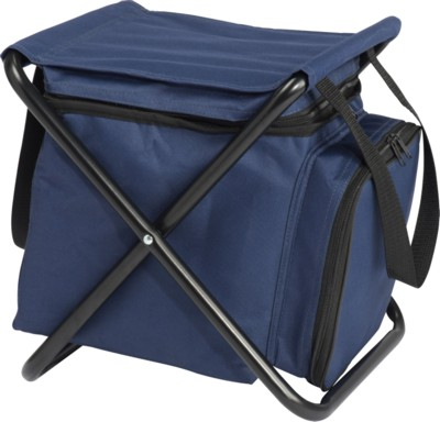 Picture of LUDVIKA STOOL & COOL BAG in Navy Blue