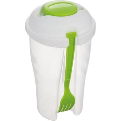 Picture of ERBA SALAD CUP TO GO in Lime Green