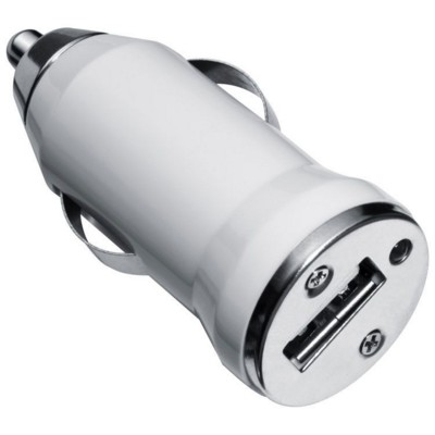 Picture of NORWICH USB CAR CHARGER in White