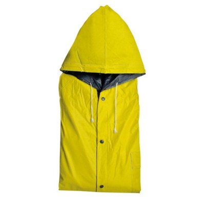Picture of NANTERRE TURN-OVER RAIN COAT in Blue & Yellow