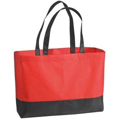 Picture of ZAGREB NON WOVEN BAG in Red