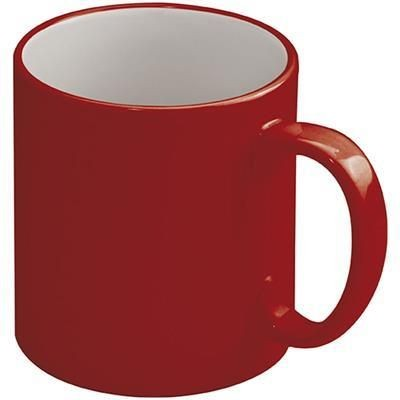 Picture of LISSABON CERAMIC POTTERY CUP in Red