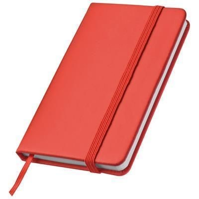 Picture of POCKET HEISENBERG NOTE BOOK in Red