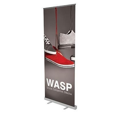 Picture of BLOCKOUT WASP PULL UP BANNER ECONOMY