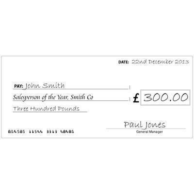 Picture of CHARITY CHEQUE