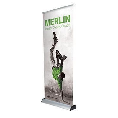 Picture of MERLIN INTERCHANGEABLE ROLLER BANNER BLOCKOUT