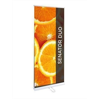 Picture of SENATOR DUO PULL UP BANNER D-SIDED BLOCKOUT