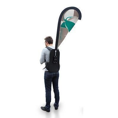 Picture of STREET FLAG BACKPACK RUCKSACK FLAG QUILL