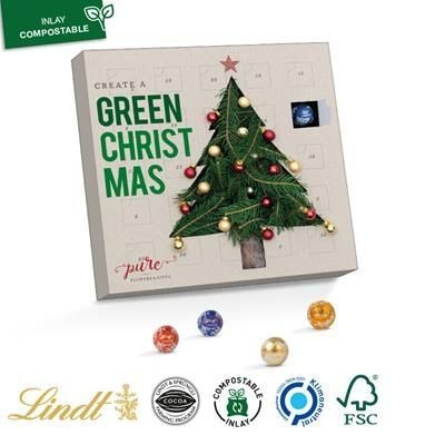 Picture of MINI CHOCOLATE BALL ADVENT CALENDAR